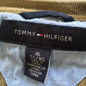 Tommy Hilfiger Shirts - Tommy Hilfiger Shirt, Olive Green, XL